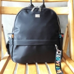 พร้อมส่ง กระเป๋าเป้ผ้าสะพายหลังผู้หญิง เป้นักเรียนหญิงแฟชั่นเกาหลี รหัส KO-033 สีดำ 3 ใบ
