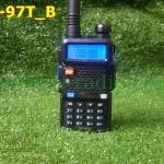 UV-97T เครื่อง2ย่าน ปุ่ม PTT แยกบน/ล่าง ความถี่ VHF/CB 136-174&240-260MHz