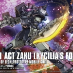 HG 1/144 Act Zaku [Kycilia's Forces]