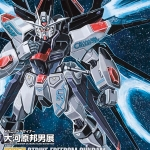 MG 1/100 Strike Freedom Gundam MECHANIC DESIGNER Okawara Kunio Exhibition Ver.