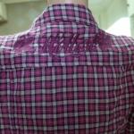 เสื้อเชิ้ตลายสก็อตหญิง ( 6852S)