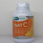 Mega We Care nat C วิตามินซี 1000 mg 150 เม็ด สร้างภูมิคุ้มกัน ลดภูมิแพ้ ป้องกันโรคต้อกระจก และโดยเฉพาะบำรุงผิวพรรณ ทำให้ผิวใส สร้างคอลลาเจน