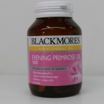 Blackmores Evening Primrose 1000 mg 60 แคปซูล น้ำมันอีฟนิ่งพริมโรสชนิดแคปซูล ให้กรดไขมันกลุ่มโอเมก้า 6 เหมาะสำหรับคุณผู้หญิงทุกคน