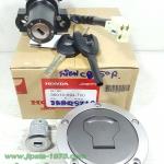 (Honda) ชุดสวิทช์กุญแจ ชุดใหญ่ พร้อมฝาถังน้ำมัน Honda CB150R แท้
