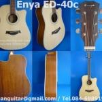 กีต้าร์โปร่งชายเว้า Enya รุ่น ED-40C
