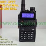 UV-99T ดำ เครื่อง2ย่าน ปุ่ม PTT แยกบน/ล่าง ความถี่ VHF/CB 136-174&240-260MHz