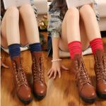 [พิเศษ 2 คู่ 100 , 3 คู่ 120 ] ถุงเท้าสไตล์ญี่ปุ่น