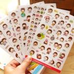 สติ๊กเกอร์ชุด : Momoi sticker Ver.2