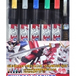 Gundam Marker Metallic Set
