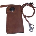 Very Nice Genuine Cowhide Leather Wallet สุดเท่ สุดสวิง กับกระเป๋าทรงยาวทำจากหนังวัวแท้ ทั้งภายนอกเเละภายใน งานสวยงานเนียบ สะใจวัยรุ่น แถมด้วยเชือกหนังถัก 1 เส้น สำเนา