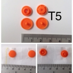 กระดุมแป๊กพลาสติก T5 plastic snap button T5