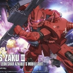 HG 1/144 Char Aznable Zaku II [Gundam The Origin]