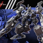 V.I. Series Armored Core V 1/72 Verdict Day CO3 Malicious R.I.P.3/M (Blue Magnolia Ridden) [First Release Limited Edition] Plastic Model