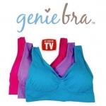 [2 แพค 1,100 บาท] genie bra Summer Set ชุดชั้นในจินนี่บรา งานเกรดพรีเมี่ยมฟองน้ำในตัว