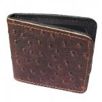 Very Nice Cowhide Leather BiFold Wallet For You กระเป๋าสตางค์ แบบ 2 พับ แบบหนังอัดลายหนังนกกระจอกสวยเก๋สะดุดตาหนังนิ่ม นุ่มมือ สำเนา