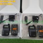 โปรแพ็คคู่ UC-6R VHF 136-174 MHz. 1-3 วัตต์ ขนาดเล็กมากเท่าบัตร ATM