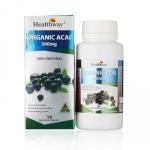Healthway organic acai berry 500mg.