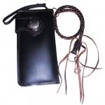 Very Nice Genuine Cowhide Leather Wallet สุดเท่ สุดสวิง กับกระเป๋าทรงยาวทำจากหนังวัวแท้ ทั้งภายนอกเเละภายใน งานสวยงานเนียบ สะใจวัยรุ่น แถมด้วยเชือกหนังถัก 1 เส้น