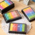 หมึกปั๊ม-Rainbow inks 6-color