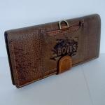 กระเป๋าสตางค์ หนังวัวแท้ Bovi's 2 พับ