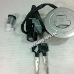 (Honda) ชุดสวิทช์กุญแจแท้ Honda MSX 125 i ชุดใหญ่(มีฝาถังน้ำมัน)