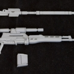 M.S.G Modeling Support Goods Weapon Unit MW09 Naginata Sniper Rifle