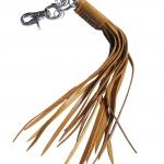 พวงกุญแจ เชือกหนังถัก หนังวัวแท้ สำหรับ คล้องเข้ากับกระเป๋า และหูกางเกง สุดเทห์