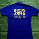 เสื้อโปโล เลสเตอร์ซิตี ลาย จิ้งจอกสยามแชมป์พรีเมียร์ลีก 2016 สีน้ำเงิน L9P-2016N