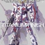 MG 1/100 RX-0 Unicorn Gundam Ver.Ka Titanium Finish