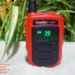 Iradio CP-168R เครื่องแดง 240-260 MHz โปรแกรม