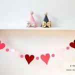D.I.Y. - ชุดธงรูปหัวใจ (Lovely Heart Flags)