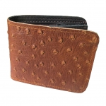 Very Nice Cowhide Leather BiFold Wallet For You กระเป๋าสตางค์ แบบ 2 พับ แบบหนังอัดลายหนังนกกระจอกสวยเก๋สะดุดตาหนังนิ่ม นุ่มมือ