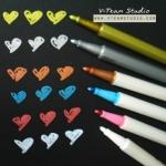 ปากกาสี-เมทาลิค