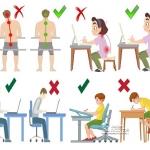 พฤติกรรมการนั่งผิดท่าทางเป็นการทำร้ายกระดูกของคุณ