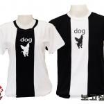 เสื้อยืดคู่รัก Day night 03 Dog