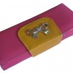 กระเป๋าสตางค์ แบบยาว สีสันสดใส ราคาสบายๆ สุดคุ้ม ด้วยช่องใส่บัตรต่างๆ หลายช่อง