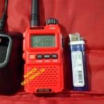 โปรโมชั่น IC-UV5R แดง เครื่อง 2 ย่าน VHF/CB 136-174 MHz. 3 วัตต์ จอ2บรรทัด