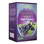Ausway grape seed 50000 MG องุ่นสกัดธรรมชาติ 100%
