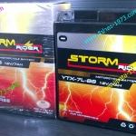 แบตเตอรี Strom Rider รุ่น YTX 7 LB สำหรับ Honda CBR 250 R และ Honda CRF 250 L
