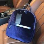 ZARA VELVET BACKPACK 2016 กระเป๋าเป้สะพายหลังรุ่นใหม่ล่าสุดวัสดุกำมะหยี่ 100%
