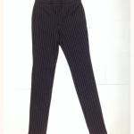 กางเกง #เลกกิ้ง #legging สีดำลายเส้นตรง