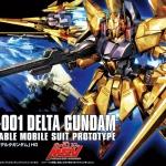 HGUC 1/144 MSN-001 Delta Gundam