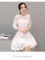 เดรสออกงานสีขาว สวยใสๆ สไตส์สาวเกาหลี แบบไหนที่คุณชอบมาดูกัน