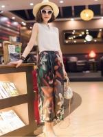 แฟชั่นเกาหลี set เสื้อและกางเกงสุดเก๋ สวยมากๆ