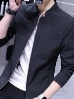 เสื้อแจ็คเก็ต สีดำ( สินค้าพรีออเดอร์ รอสินค้า15-20 วัน )
