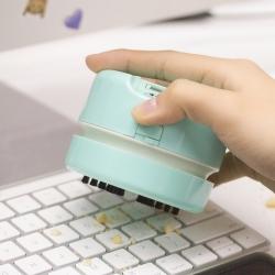 ที่ดูดฝุ่นบนโต๊ะ- mini vacuum (สีมิ้นท์)