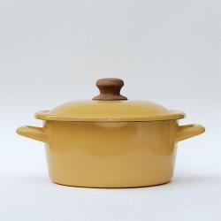 Fujihoro-Enamel Cooking Pot <BMP-20W.Y>