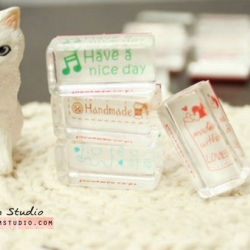 ตัวปั้ม-Crystal cute little stamp