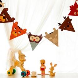 ชุดธงรูปสัตว์น่ารัก (Animal party)