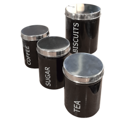 Tin Canister (Set of 4)